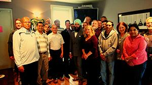 NDP deputy leader visits Bruce A