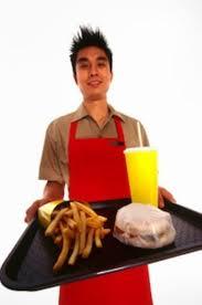fast food worker