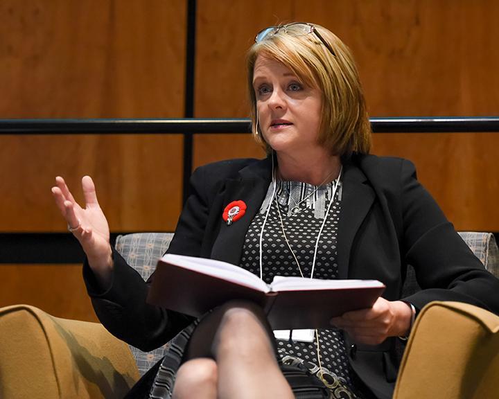 Secretary-Treasurer spoke on breaking into the industry as a woman