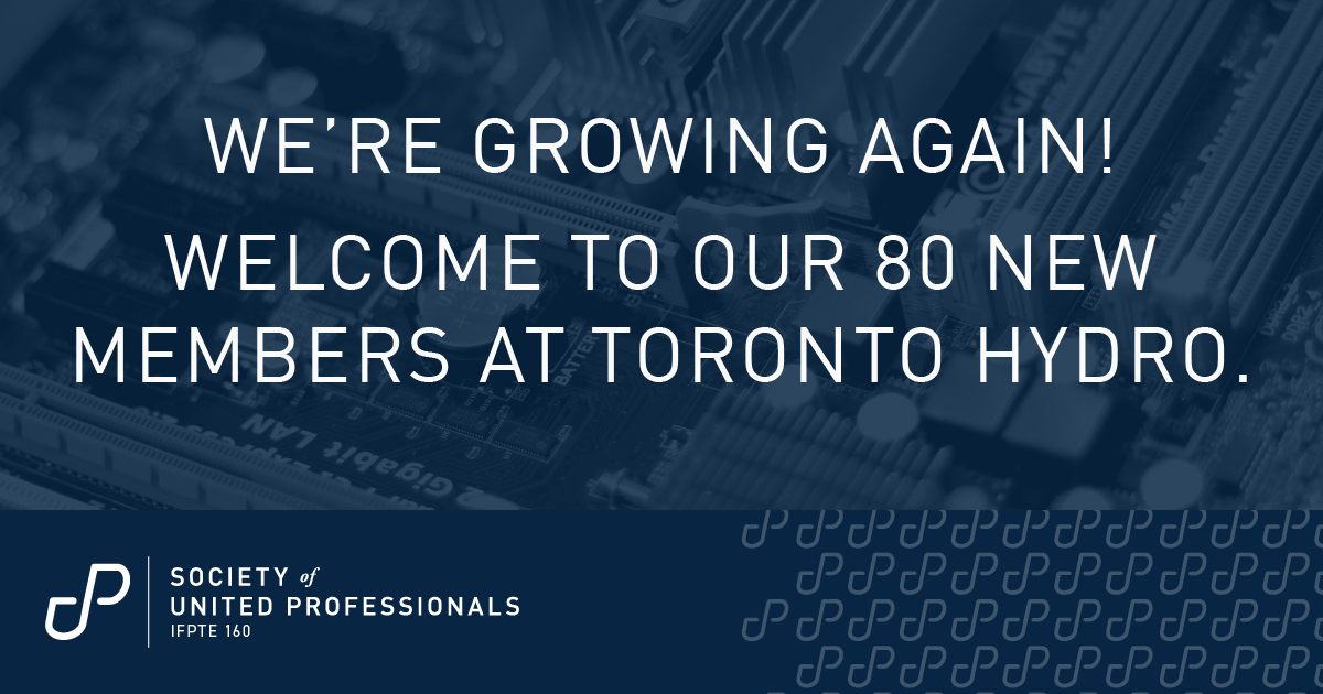 We're growing again: welcome Toronto Hydro IT professionals