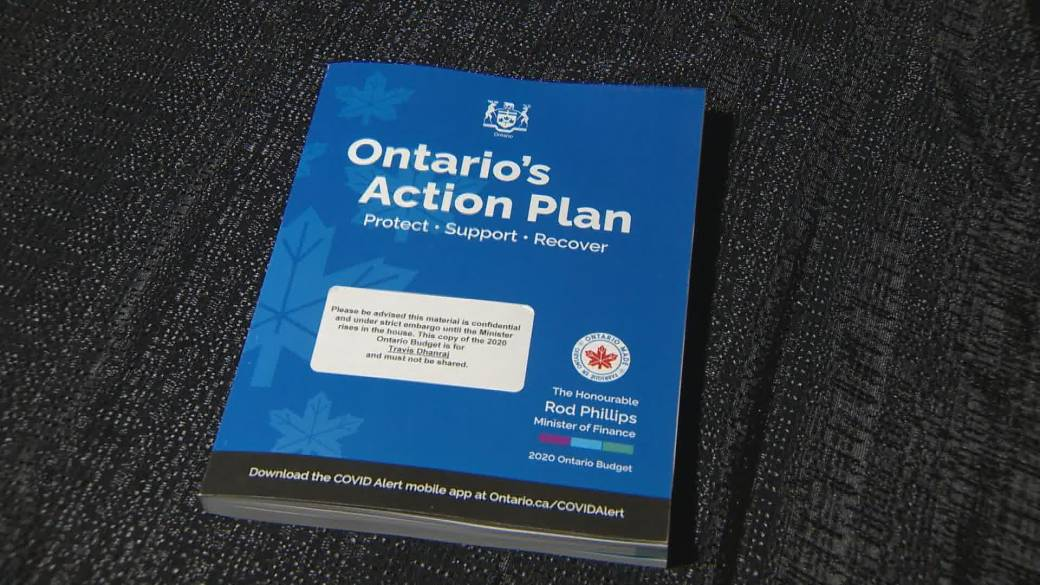 Ontario Releases 2020 Budget
