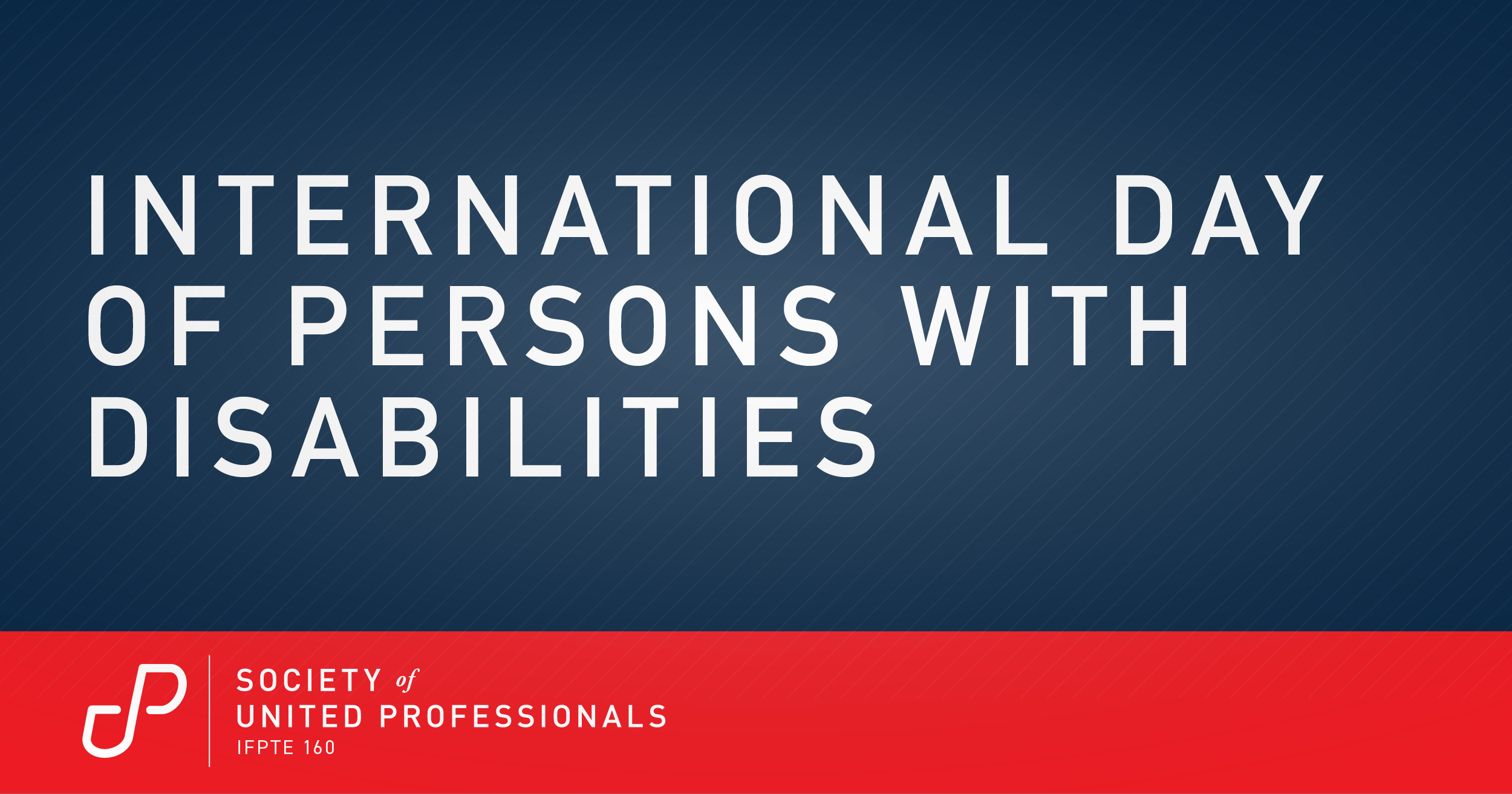 Announcing the Society's Professionals with Disabilities Committee