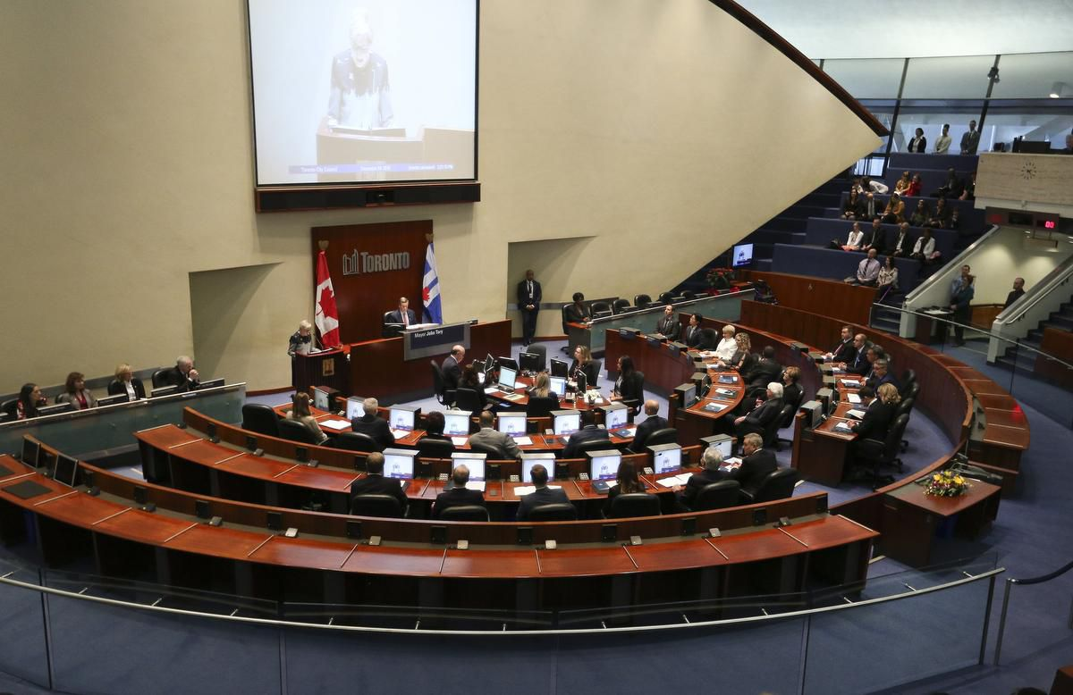 Toronto City Council joined call to stop court closures