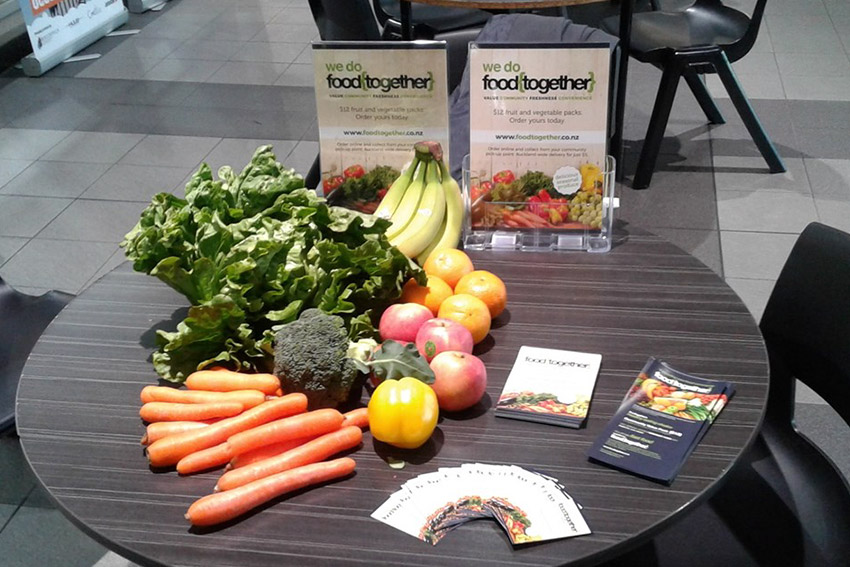 Fresh fruit and vegetable group partners with Auckland Council leisure centres