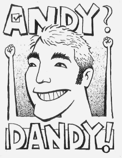 Andy? Dandy! spoke card