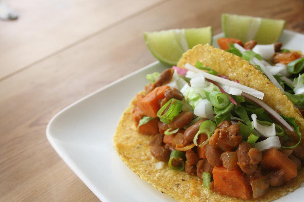 Sweet Potato and Pinto Bean Tacos - Thug Kitchen