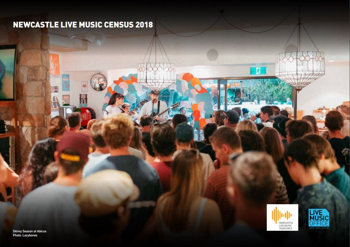 Newcastle Live Music Census 2018 - Tim Crakanthorp New
