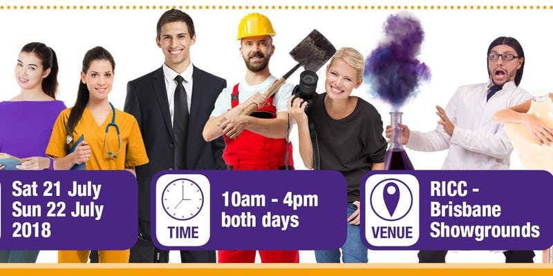 Image showing dates and times for Tertiary Studies Expo