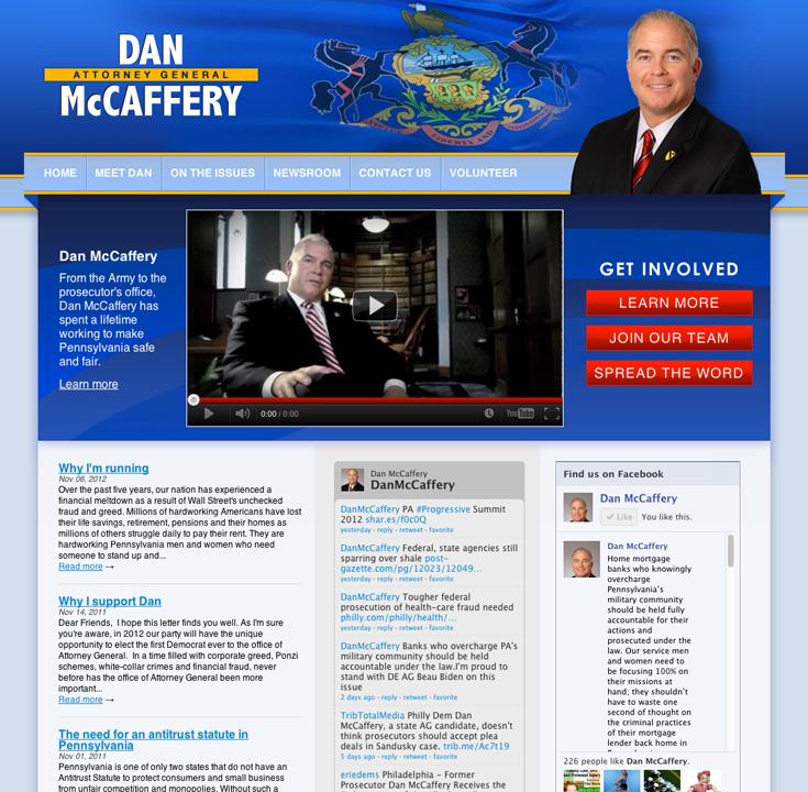 Dan McCaffery for Attorney General of Pennsylvania