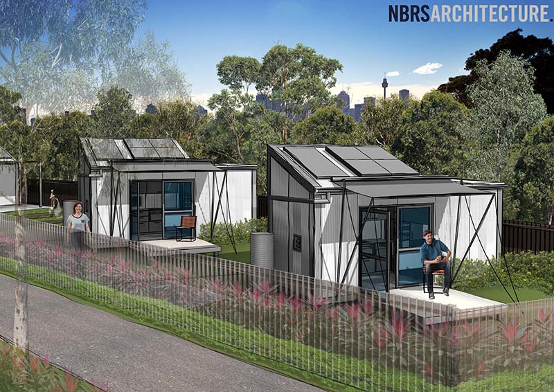 Australia 39 s first tiny home project approved for nsw for Foundation tiny house builders