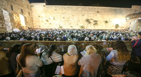 IN PICTURES: Prayers and renewal at the Western Wall before