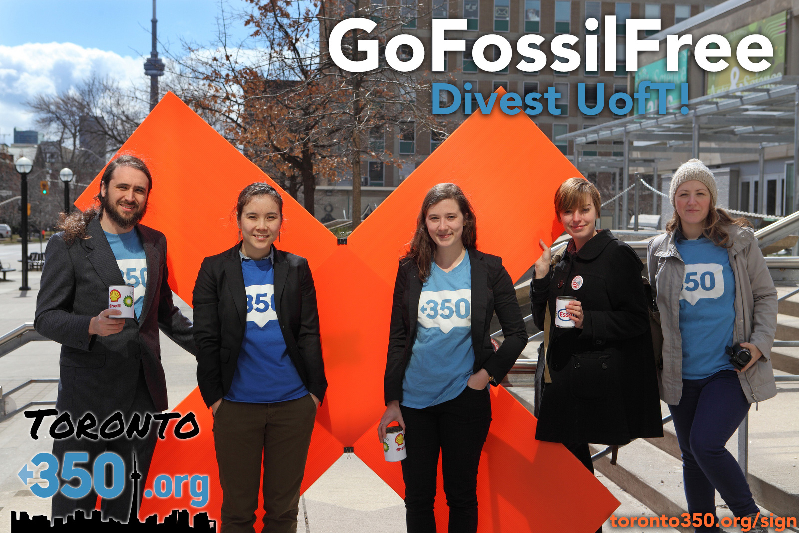 Go Fossil Free, Divest UofT!