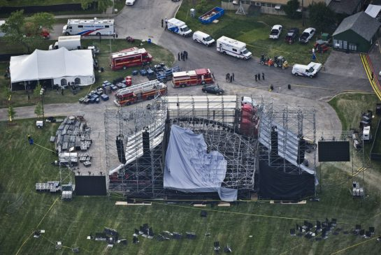 Downsview stage collapse
