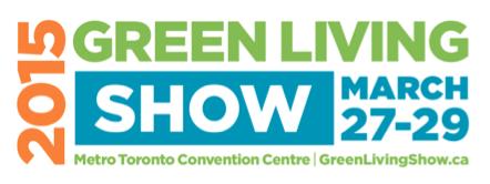 Green Living Show 2015 Logo
