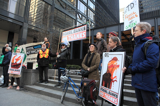 April 4 2019 Fossil Banks Divest Action TO350 BankTrack Event