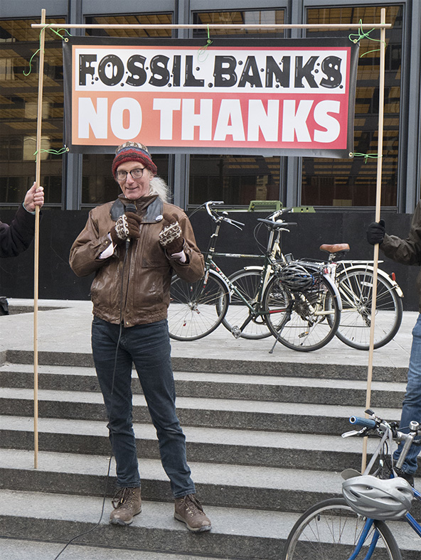 April 4 2019 Fossil Banks Divest Action TO350 Speakers