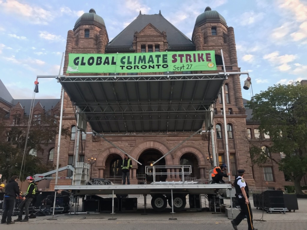 Global Climate Strike Stage - September 27, 2019