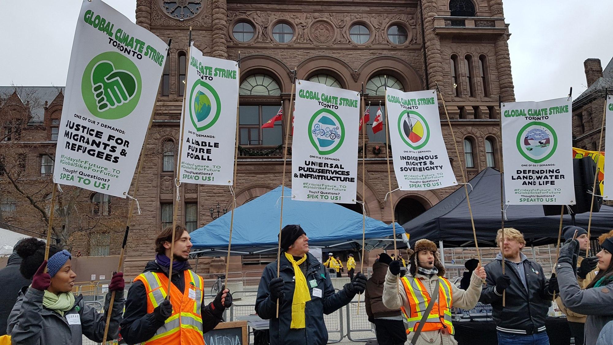 Demands Climate Strike November 2019