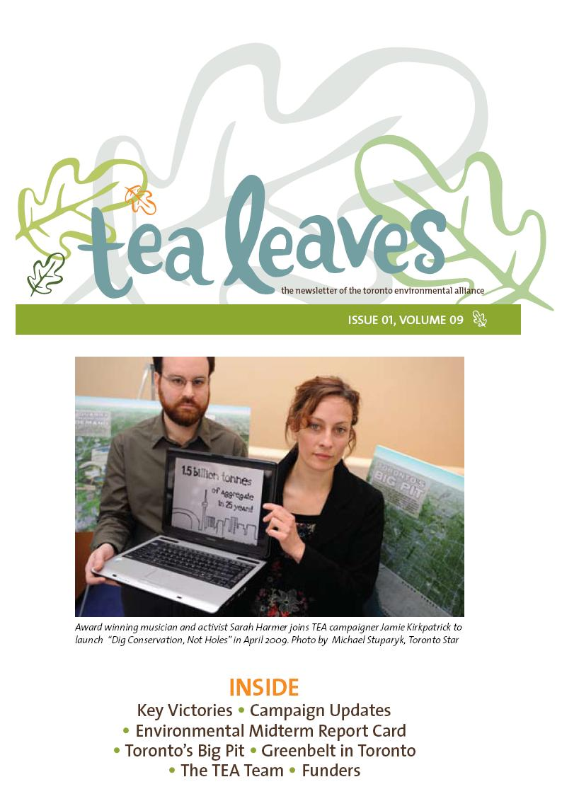 TEA Leaves cover image 2009