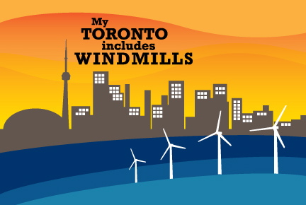 My Toronto Includes Windmills LOGO