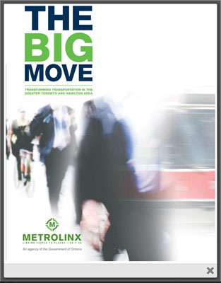 Metrolinx Transit Plan:The Big Move