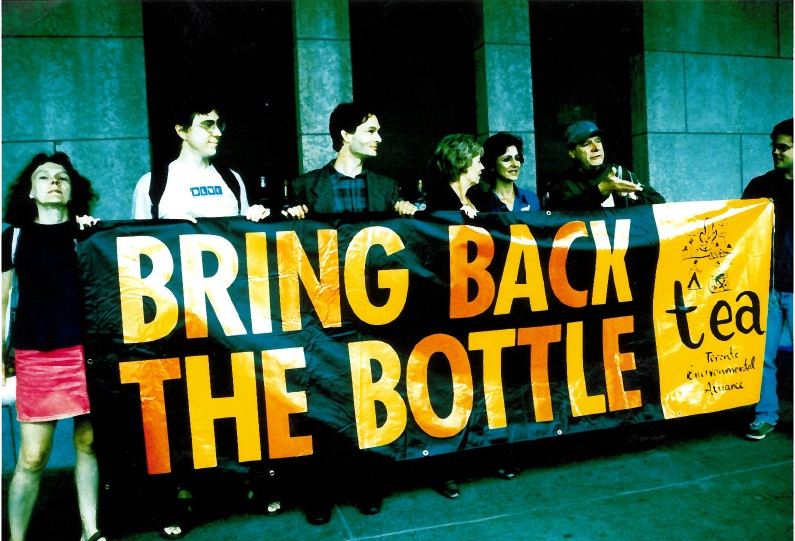 TEA calls for bottle deposits in 1997