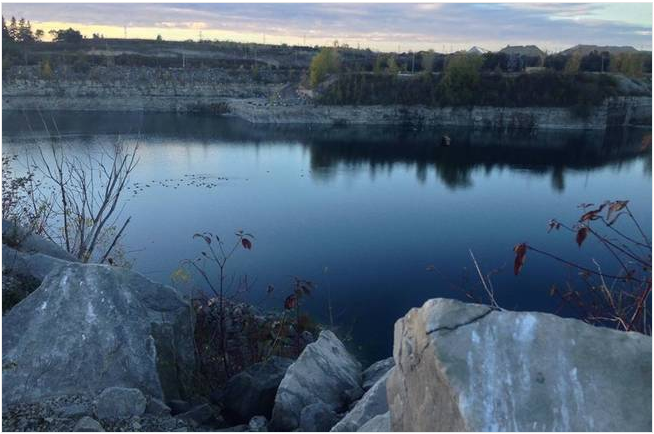 OPAL Alliance - A lake located between the proposed landfill site and the Thames River in Ingersoll.