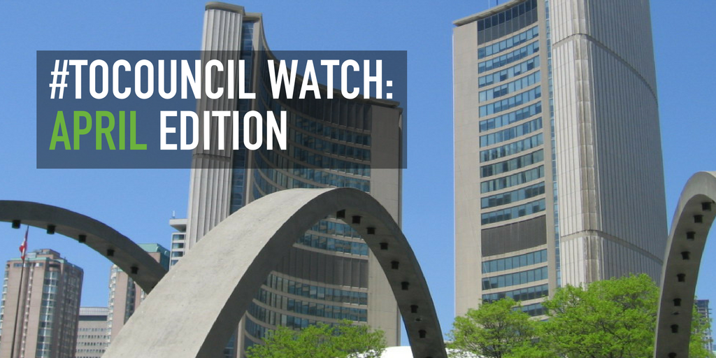 Council Watch: April Edition
