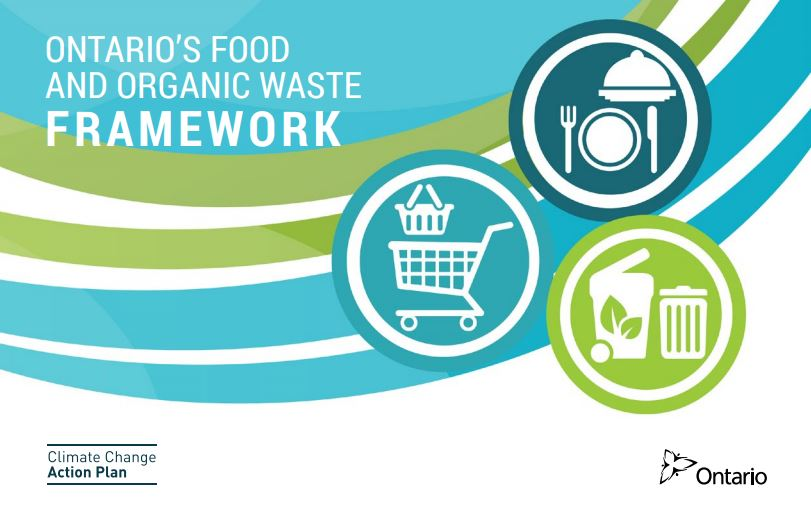 Cover: Ontario's Food & Organic Waste Framework