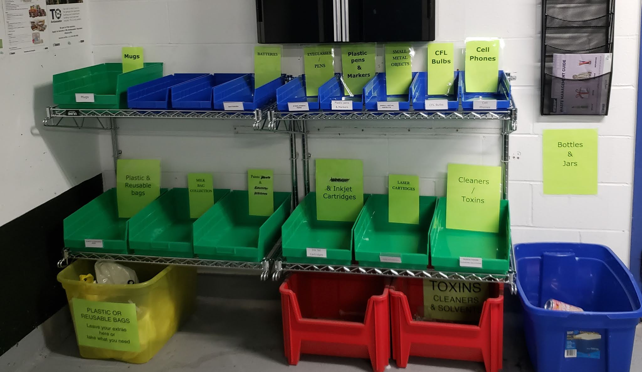 IMAGE: Special waste collection area in a high-rise building