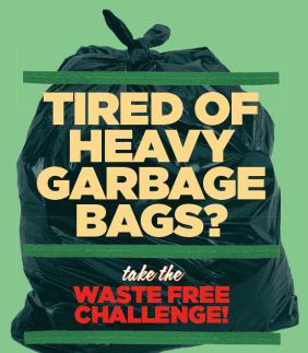 Waste Free Challenge poster