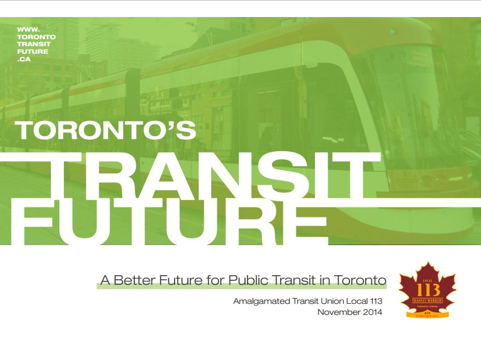 ATU Local 113 Transit Future Report
