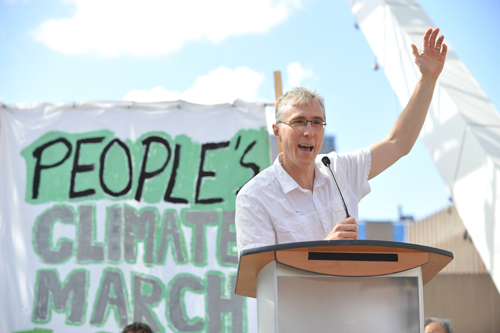 Henry Chan Jr.: Franz at the Climate March