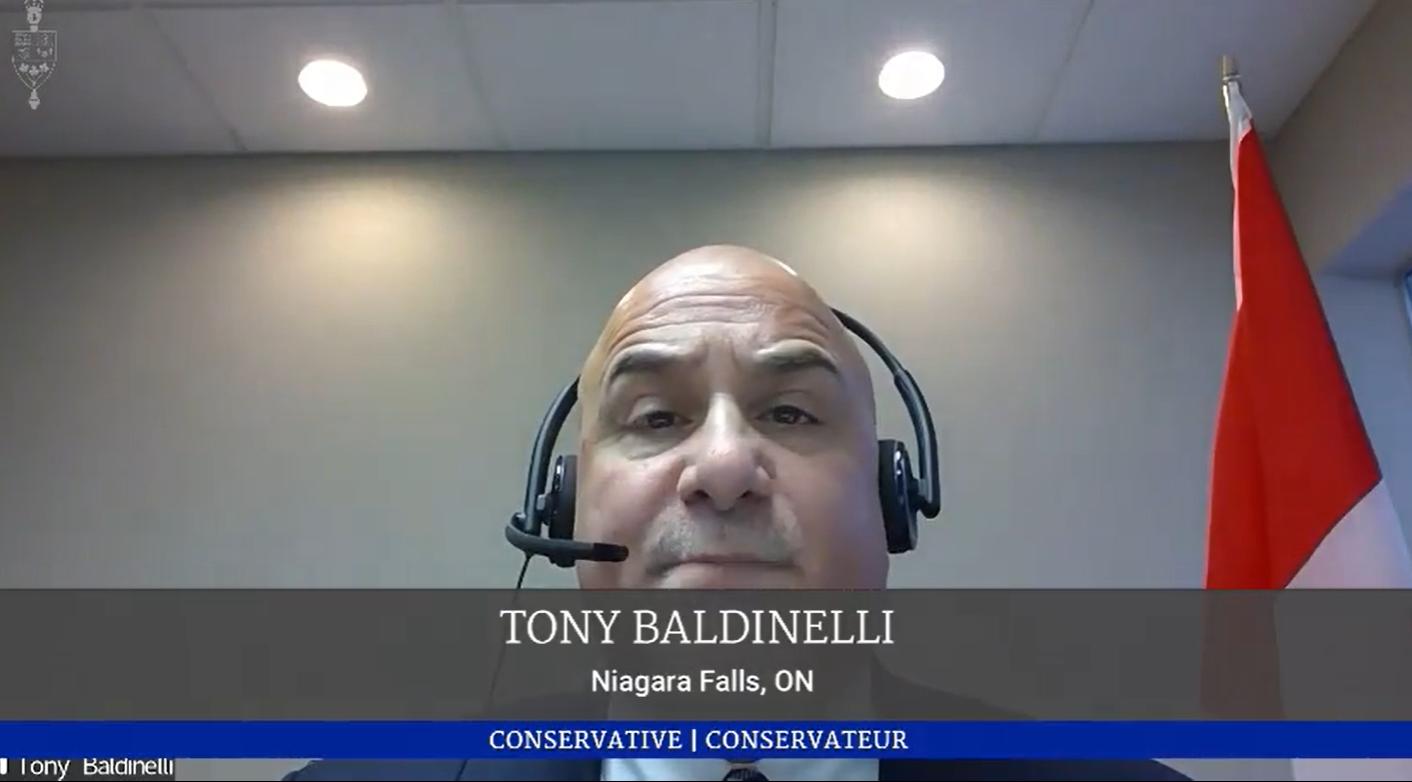 Tony Supports Emancipation Day Motion