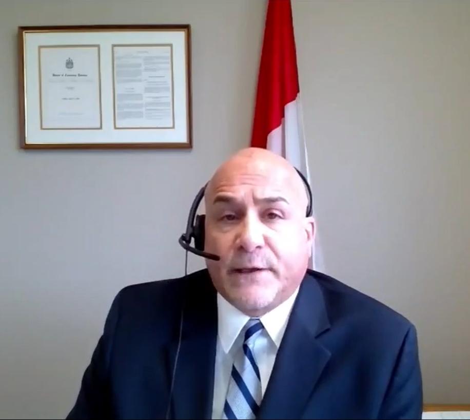 Tony Supports CBSA Workers in Niagara