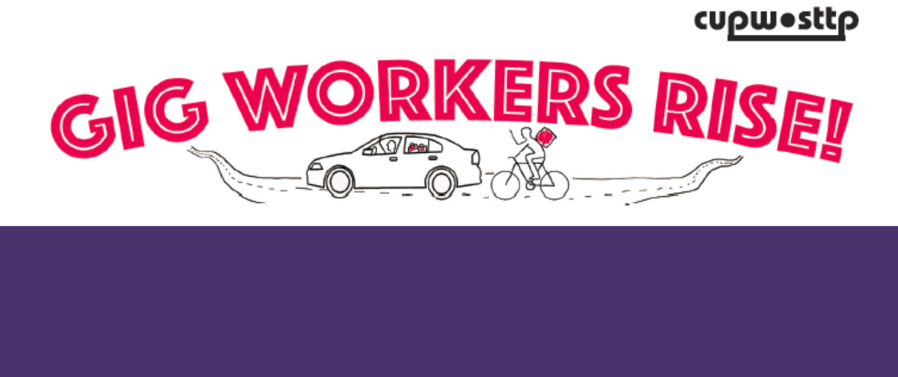 Breakfast Rally with Foodsters United and Uber Drivers United | On November 6, show your support to these groups organizing to fight for worker rights in the gig economy.  Click for more information.