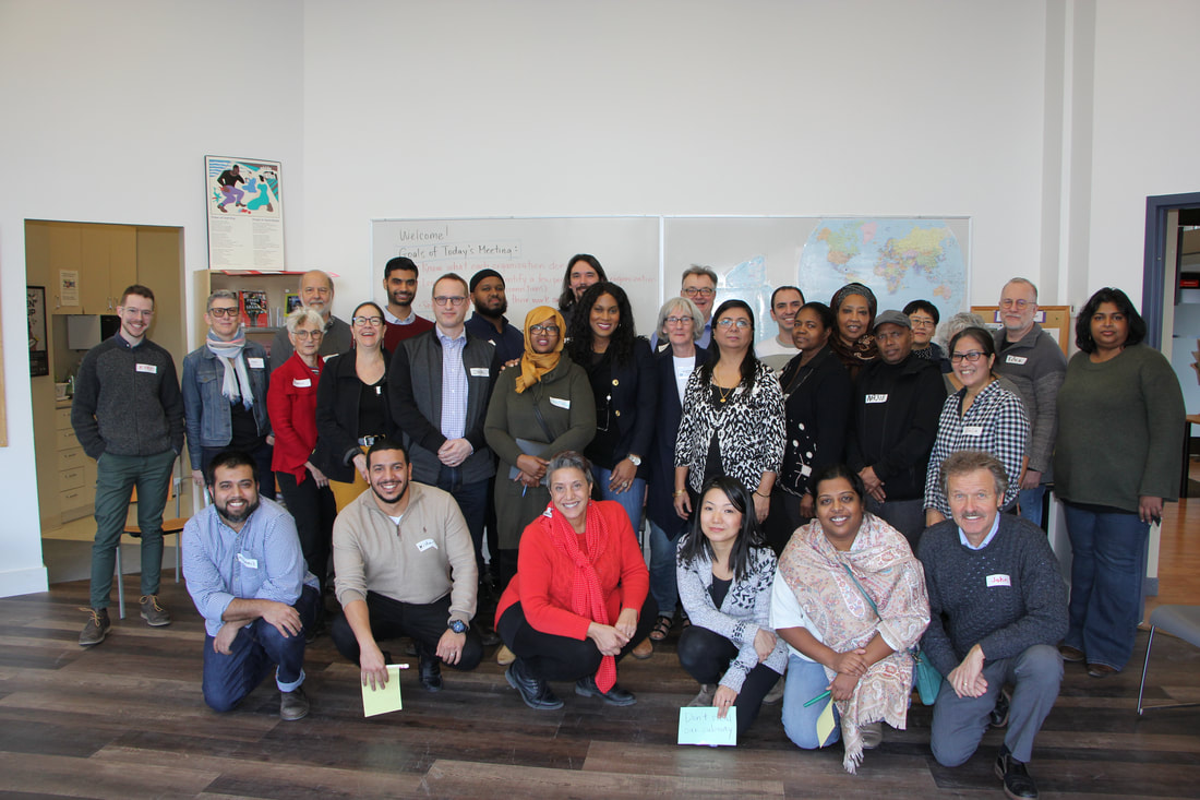 The Labour Council's extended staff family, including Labour Community Services and the Labour Education Centre