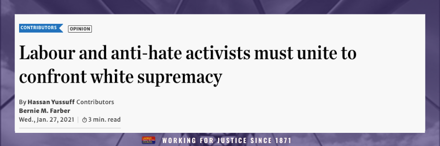 Call to action for labour to stand up against hate