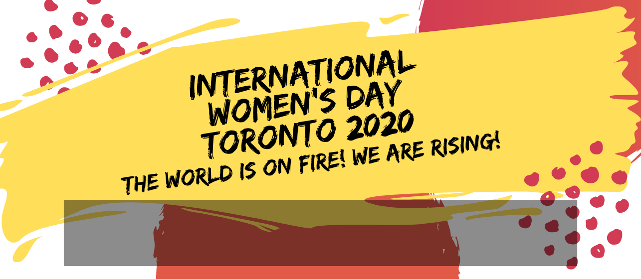 International Women's Day 2020 | Join us on Sunday, March 8 for the 11 a.m. rally and 1 p.m. march as we recognize this important occasion in the ongoing fight for gender justice!