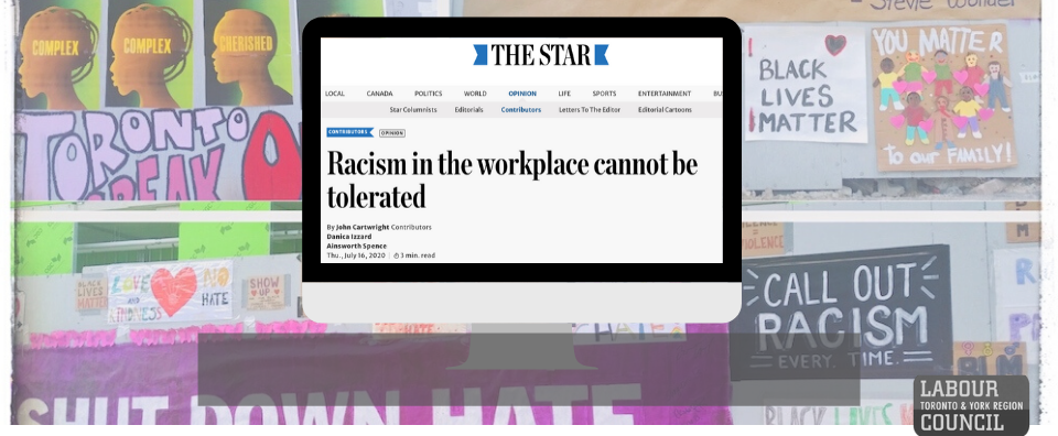 Read our editorial condemning recent racist attacks at work