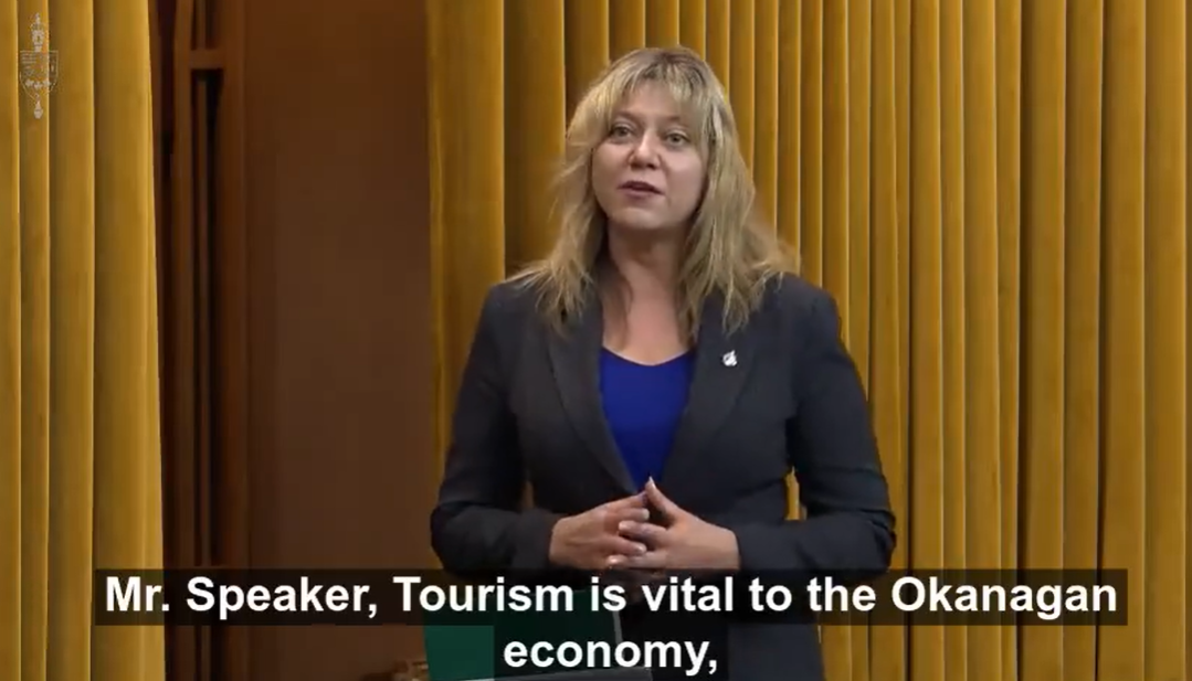 Recognizing the importance of Tourism in the Okanagan