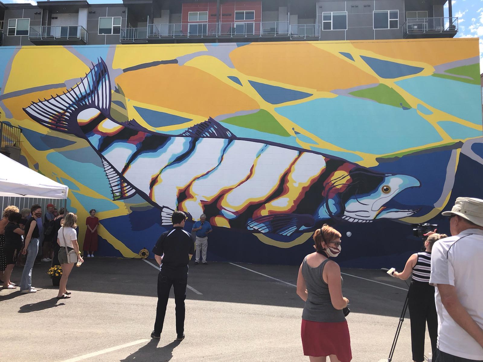 CTQ mural unveiling