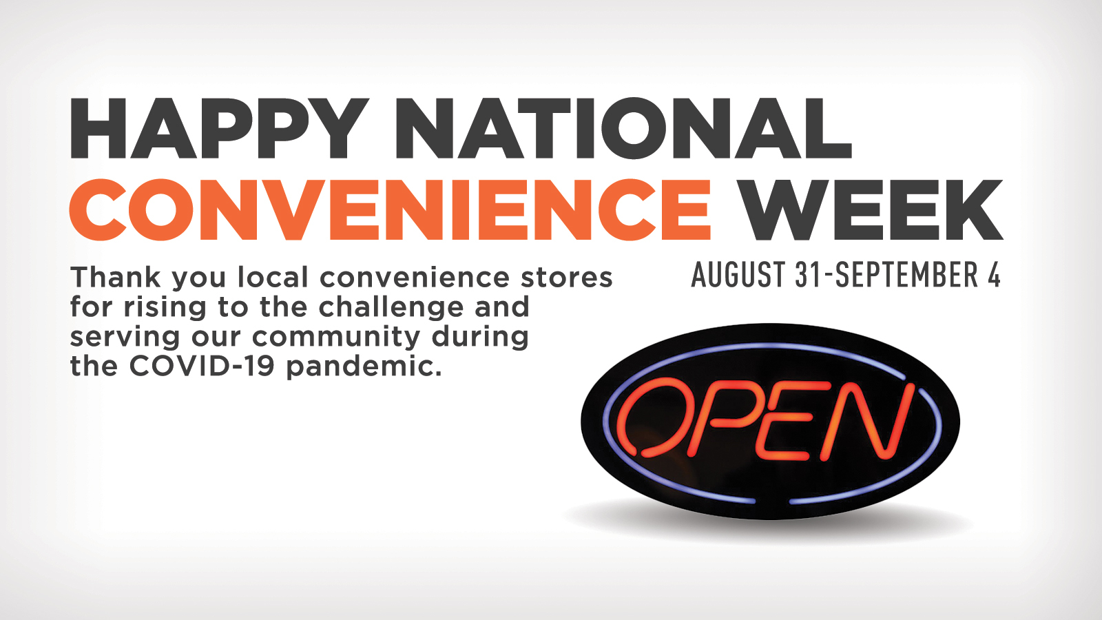 National Convenience Store Week