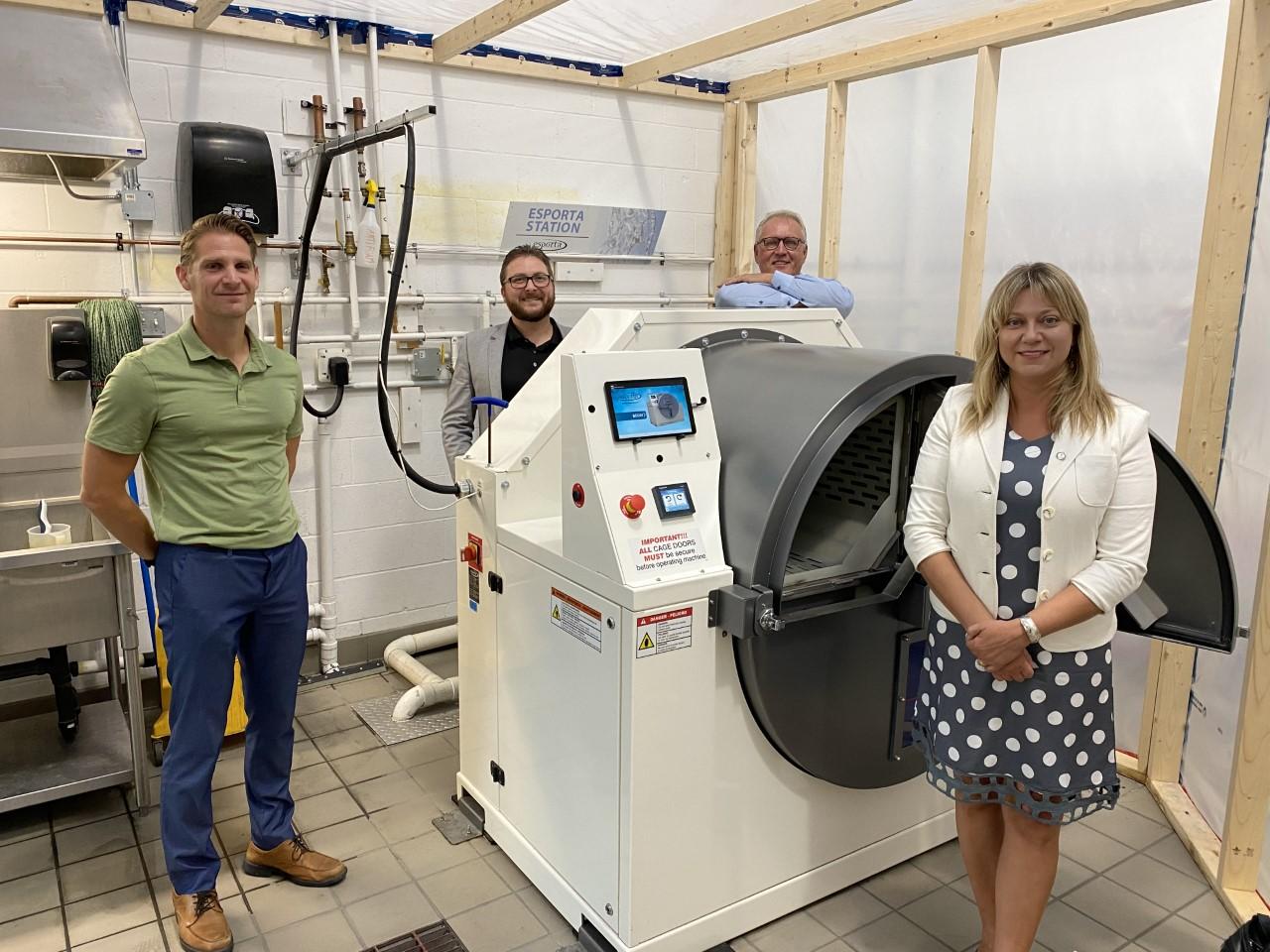 Touring Esporta Wash Systems