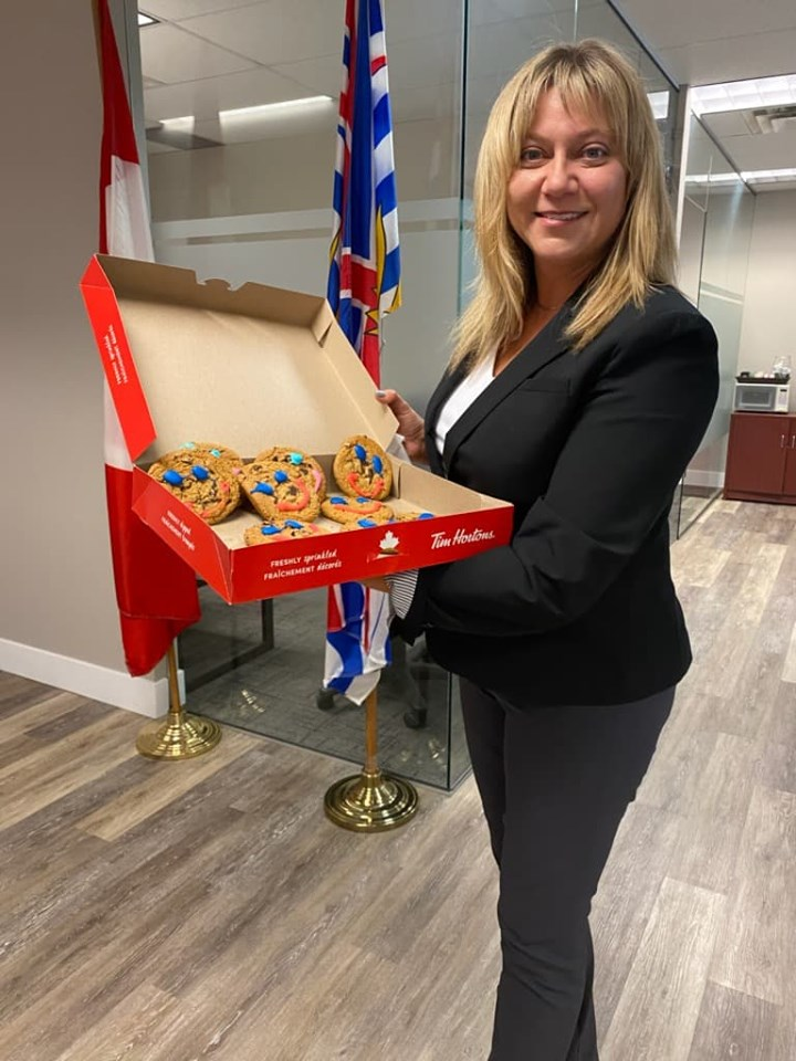 Annual Tim Hortons Smile Cookie campaign