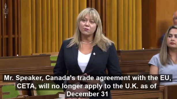 Canada needs a free trade agreement with the UK