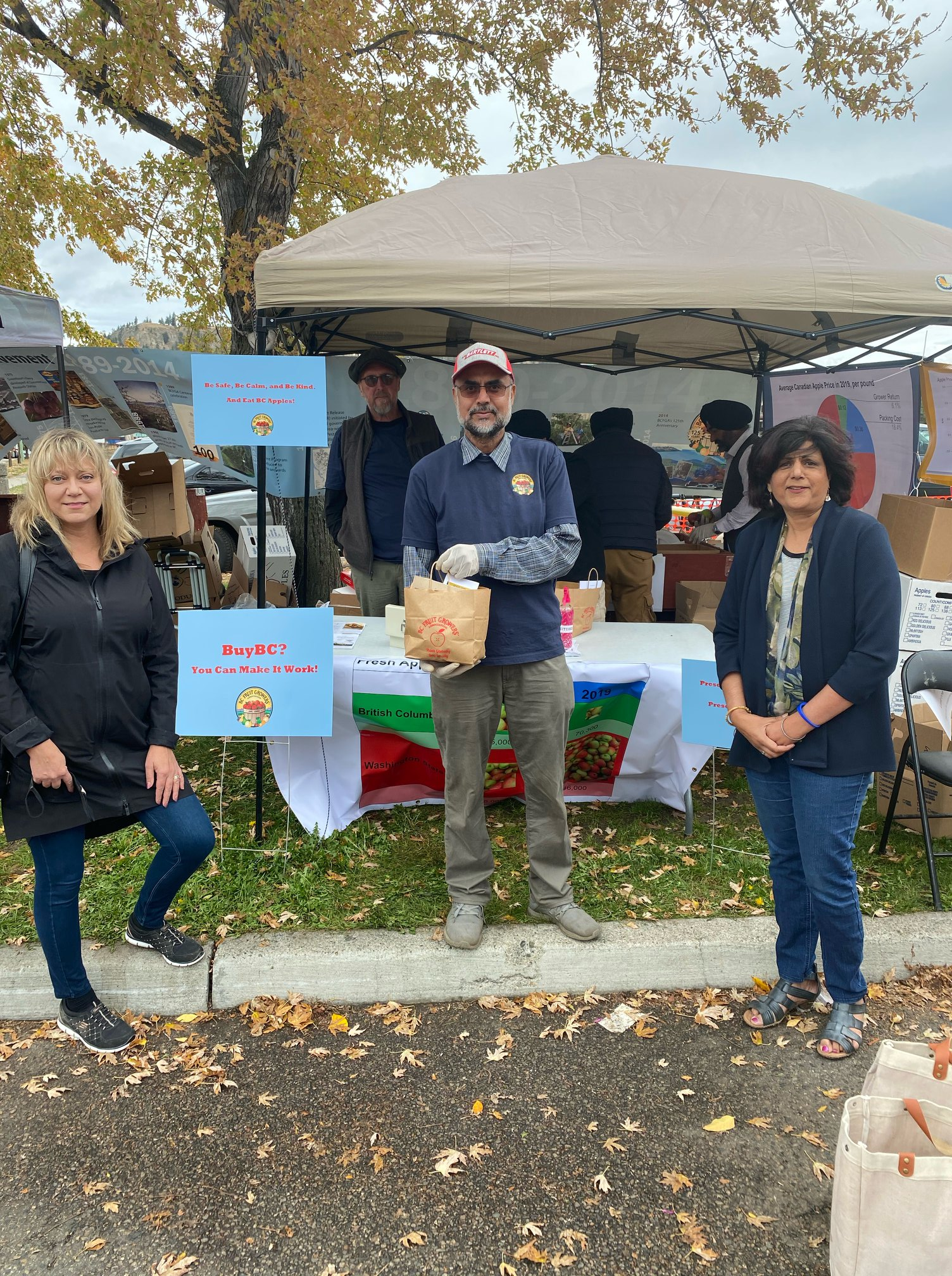 Visiting the Kelowna Farmers' and Crafters' Market
