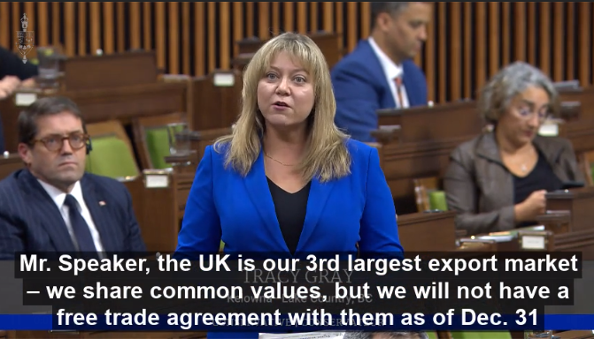 The clock is ticking on a Canada/UK FTA