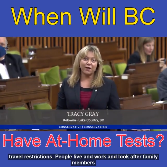 When will BC have at-home COVID19 tests?