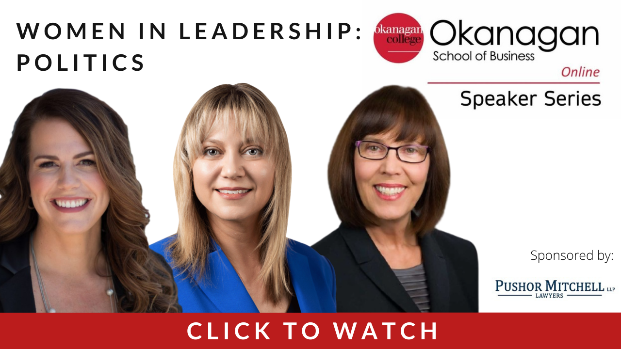 Okanagan College Women in Leadership Panel